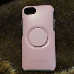 OtterBox with pop socket.